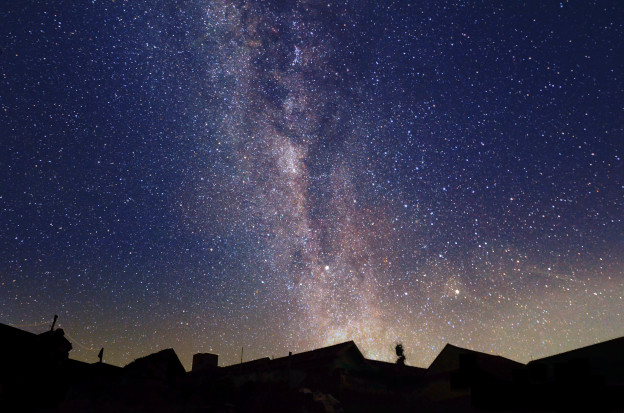 The Milky Way is Always There