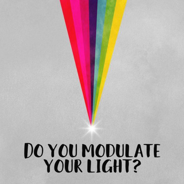 Do you modulate your light?